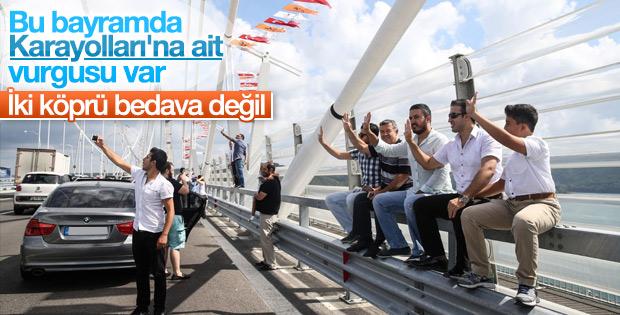 Bayram'da KGM'nin işlettiği köprü ve yollar ücretsiz
