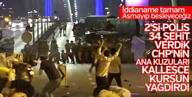 Şehitler Köprüsü iddianamesi tamamlandı
