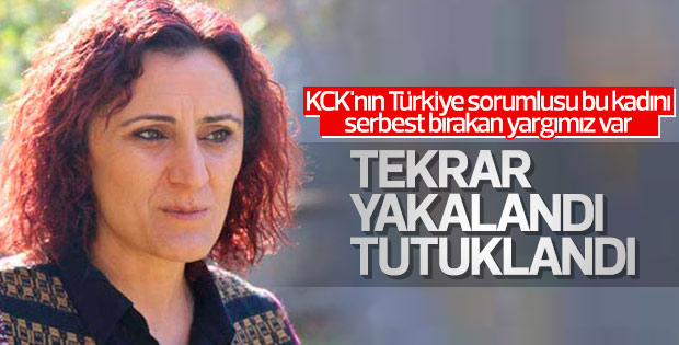 KCK'nın Türkiye sorumlusu Sara Aktaş tutuklandı