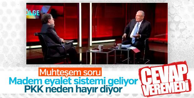Deniz Baykal'ı zorlayan soru: PKK neden hayır diyor