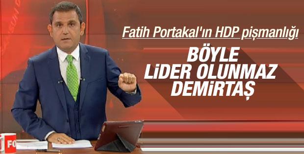 Fatih Portakal: Böyle Türkiye partisi olmaz