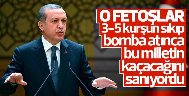 Erdoğan FETÖ'cülere FETOŞLAR dedi
