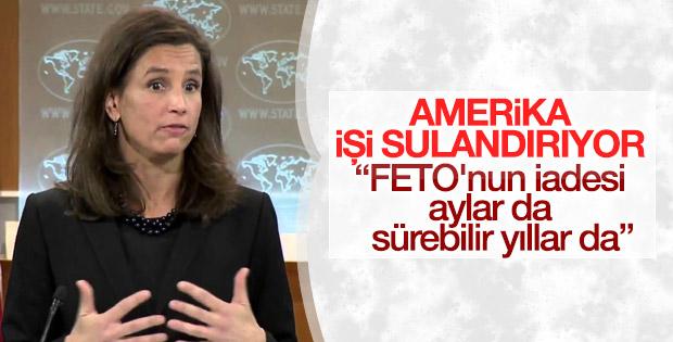 ABD Dışişleri Sözcüsü FETO için açık konuşmadı