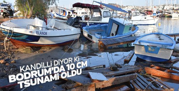 Kandilli Bodrum'daki dalgalara tsunami dedi