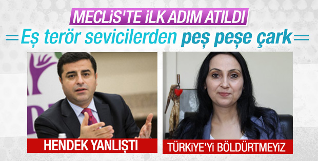 AK Parti'nin dokunulmazlık teklifi Meclis'te