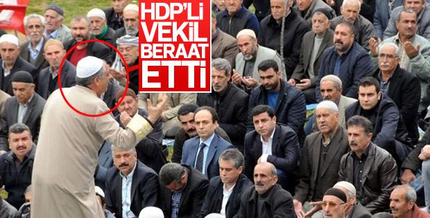 HDP'li Nimetullah Erdoğmuş yargılandığı davadan beraat etti