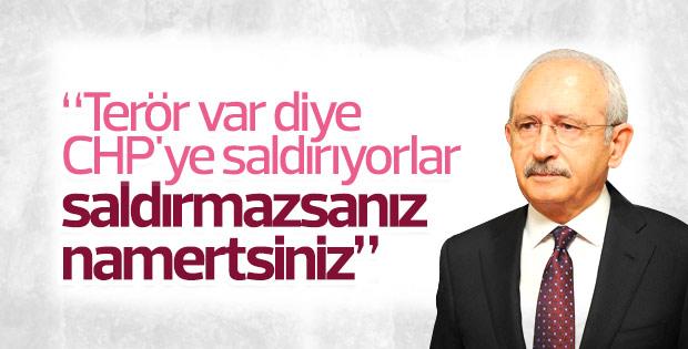 Kılıçdaroğlu'nun il başkanları toplantısı konuşması