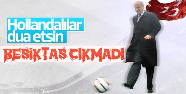 Bahçeli'den Beşiktaş yorumu: Ajax kendini kurtardı