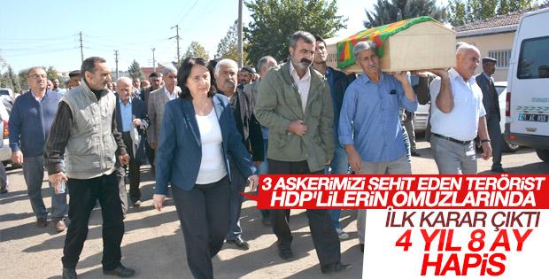 HDP'li Nursel Aydoğan'a hapis cezası