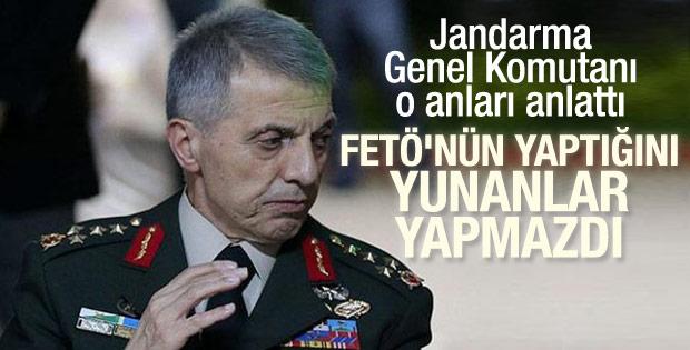 Jandarma Genel Komutanı Orgeneral Galip Mendi'nin ifadesi