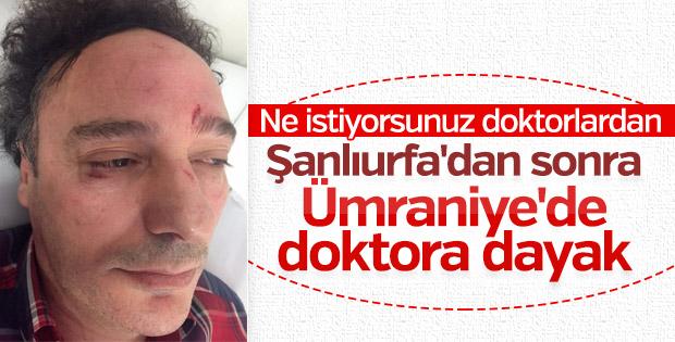 Ümraniye'de doktora saldırı