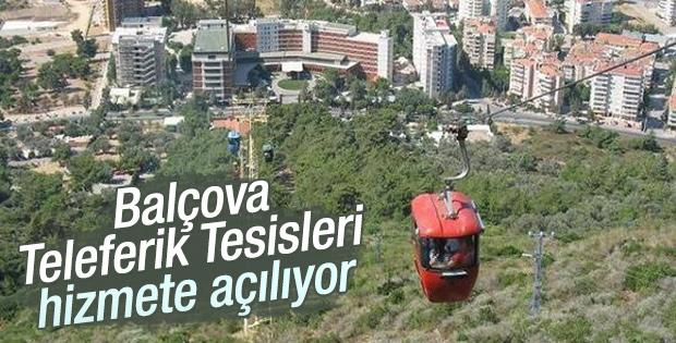 Balçova Teleferik Tesisleri hizmete açılıyor
