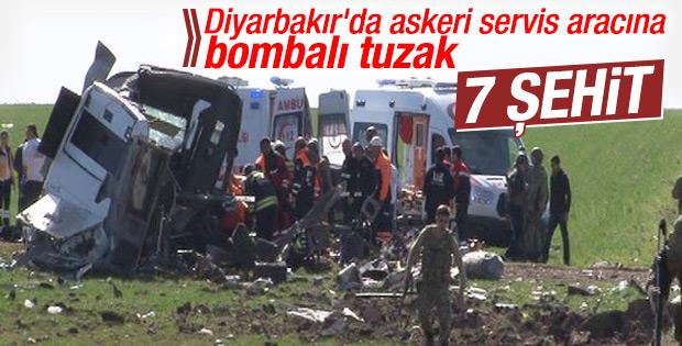 Diyarbakır'da 7 asker şehit