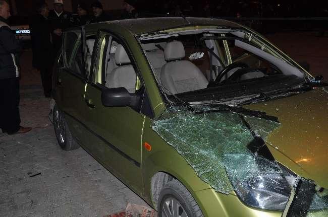 Kayseri'de bir otomobil patladı: 4 yaralı