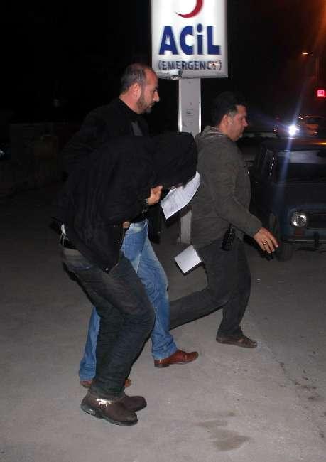 Konya'da lüks otomobilli soygun