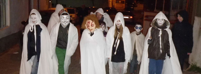 Edirne'de Türk işi Cadılar Bayramı