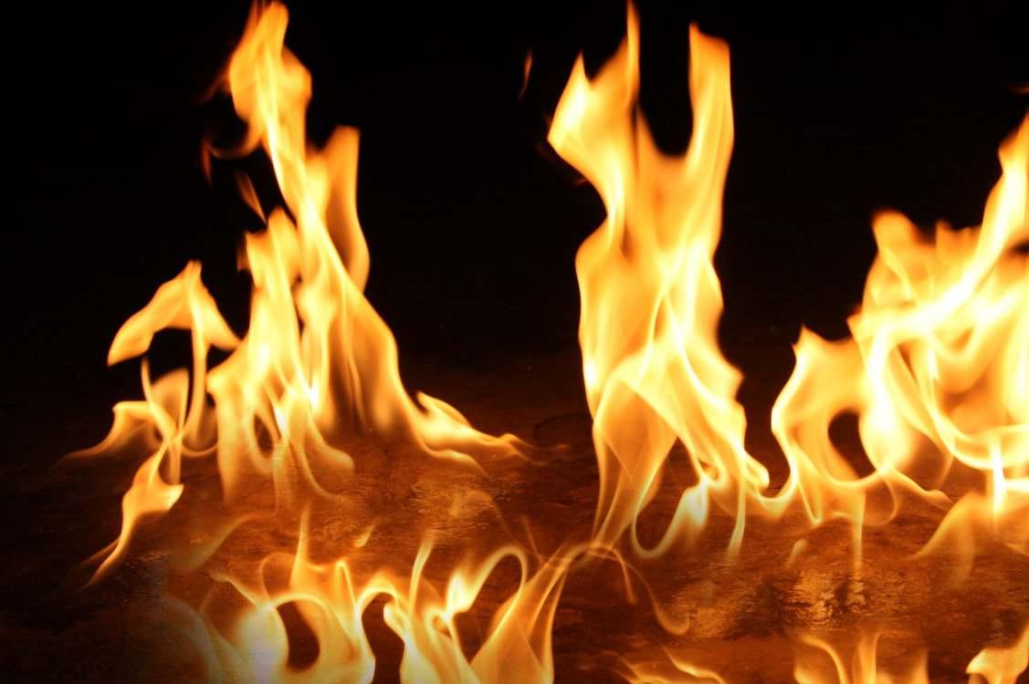 Erzurum'da yangın: 1 ölü 4 yaralı