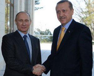 Erdoğan Putin ile bir araya geldi