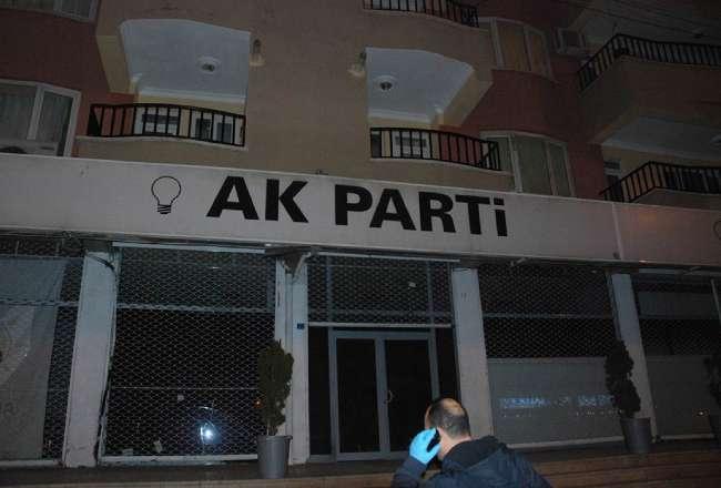 Ak Parti İlçe Başkanlığı binasına bombalı saldırı