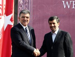 Ahmedinejad Gül'ü engelledi