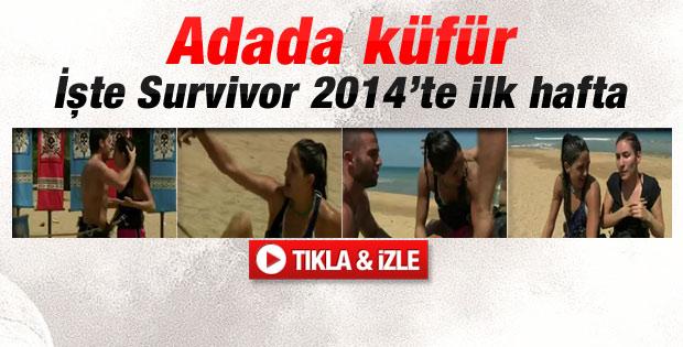 2014 Survivor'da ilk hafta - Video