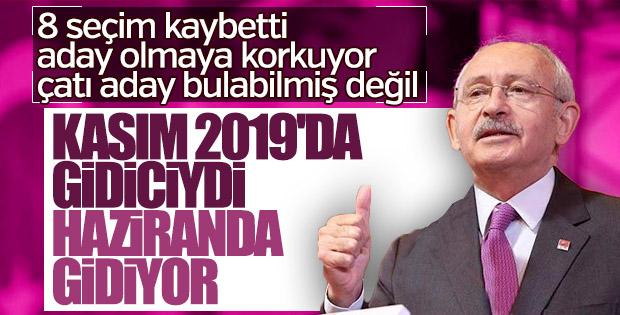 Erken seçim kararı sonrası Kılıçdaroğlu'ndan ilk açıklama