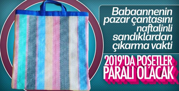 2019'da plastik poşetler ücretli olacak