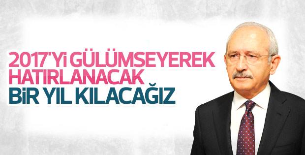 Kılıçdaroğlu'dan yeni yıl mesajı