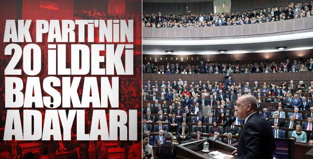 AK Parti'de 20 ilin belediye başkan adayı daha belli oldu! İşte Detaylar..
