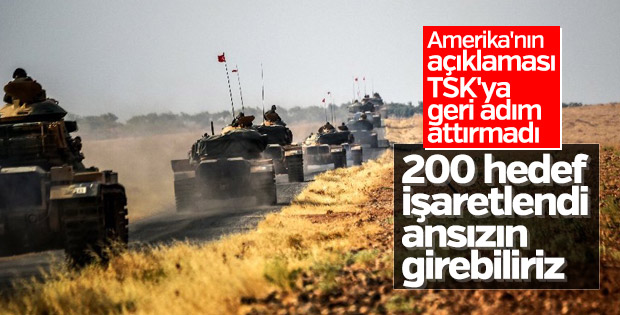 Mehmetçik Afrin operasyonu için hazır