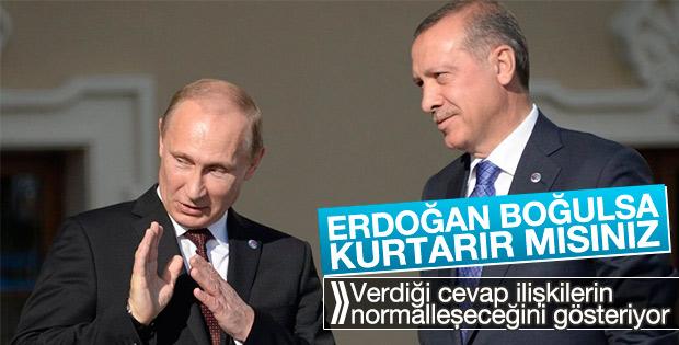 Putin'den Türkiye ile normalleşme sinyali