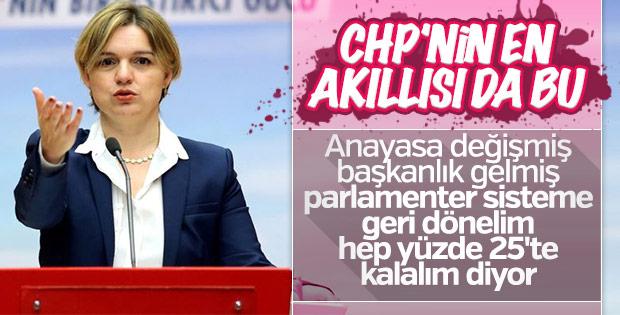 Selin Sayek Böke'den 'çatı aday' açıklaması
