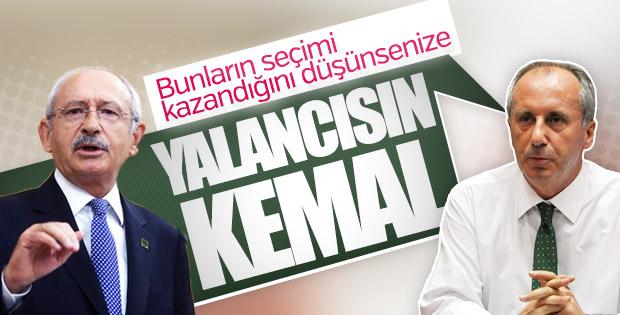 Muharrem İnce'den Kılıçdaroğlu'na: Beni çağırmadı