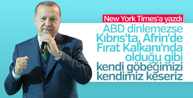 Erdoğan'dan ABD krizi hakkında açıklama