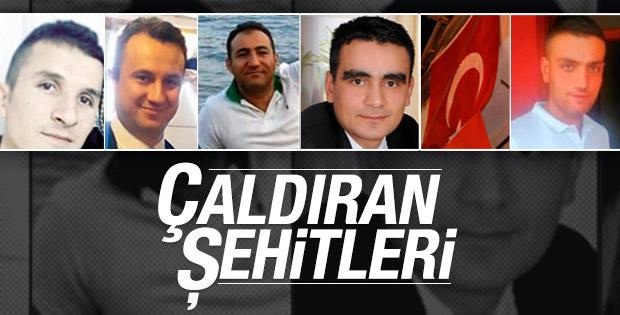 Van'da şehit olan 6 askerin isimleri belli oldu