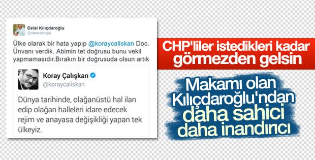 Celal Kılıçdaroğlu'ndan abisine eleştiriler