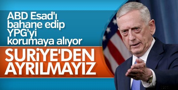 Mattis: DEAŞ bitmeden Suriye'den çıkmayız