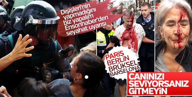 Tehlike dolu Avrupa: Paris, Berlin, Brüksel, Barselona