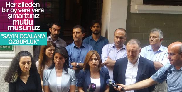 HDP'den Öcalan'a özgürlük talebi