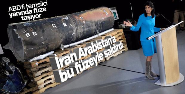 Nikki Haley BM'ye İran füzelerini kanıt olarak sundu