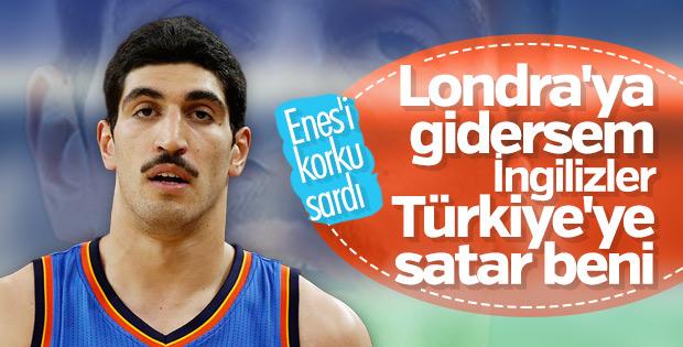 Enes Kanter Türkiye'ye iade edilmekten korkuyor