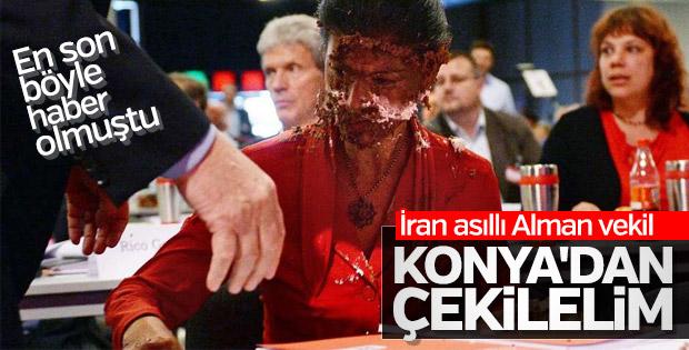 Alman Sol Partili vekilin Konya'dan çekilme talebi