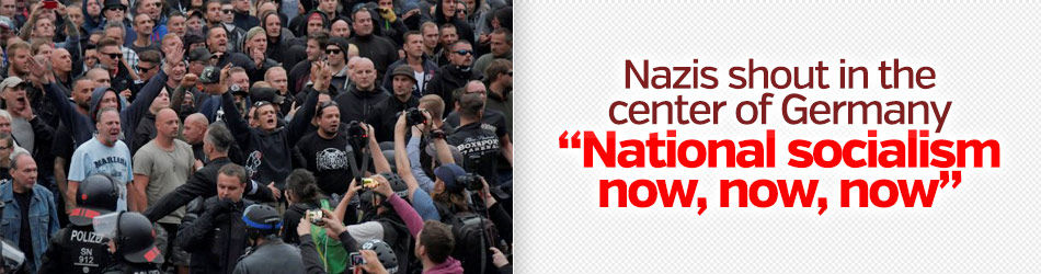 Nazis take to the streets in Germany