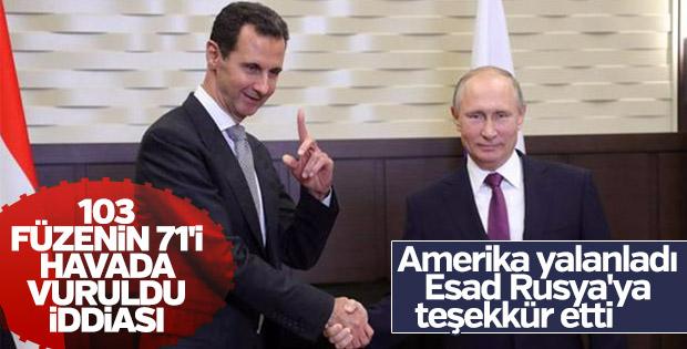 Esad'ın keyfi yerinde