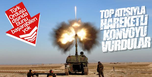 TSK imkansız hedefleri obüslerle 12'den vuruyor