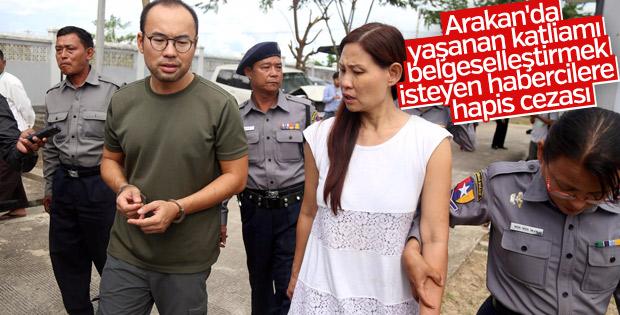 Myanmar'da TRT World ekibine 2 ay hapis cezası