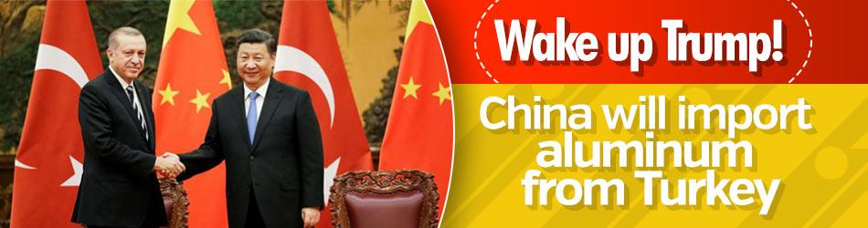 China will import aluminum from Turkey