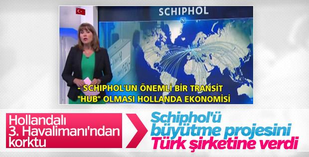 Hollanda Schiphol Havalimanı'nı büyütme işini Rönesans aldı