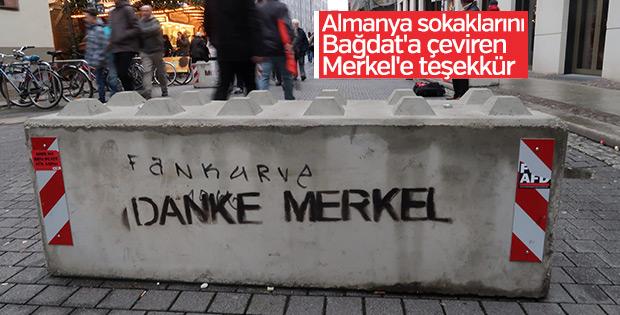 Almanya'da yılbaşı hazırlıkları: Teröre karşı bloklar