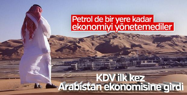 Suudi Arabistan'da ilk kez KDV ödenecek